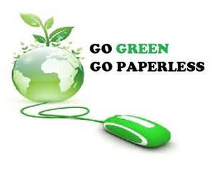 Go green go paperless with estatments